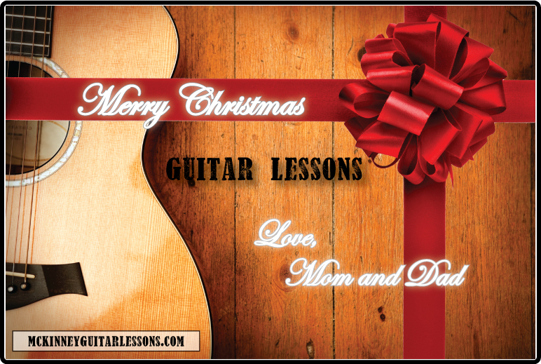 gift certificates guitar lessons mckinney tx