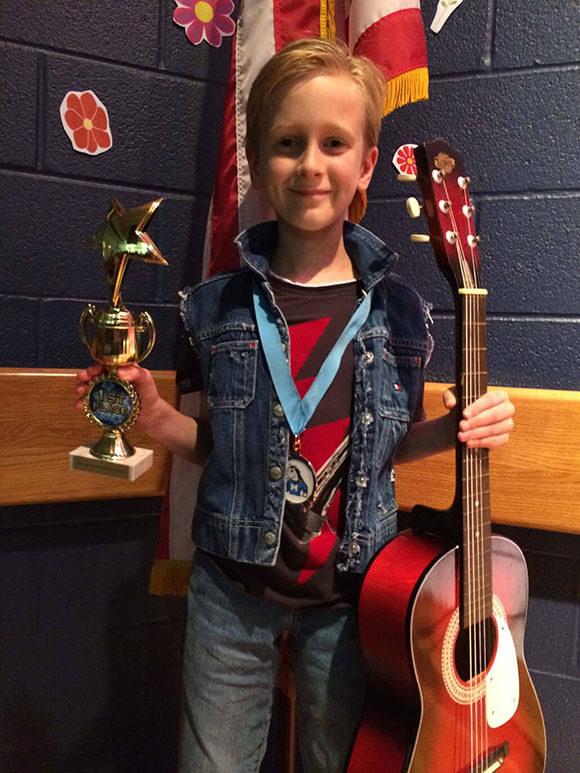 Mckinney Guitar Lessons Student Spotlight Joshua Ward